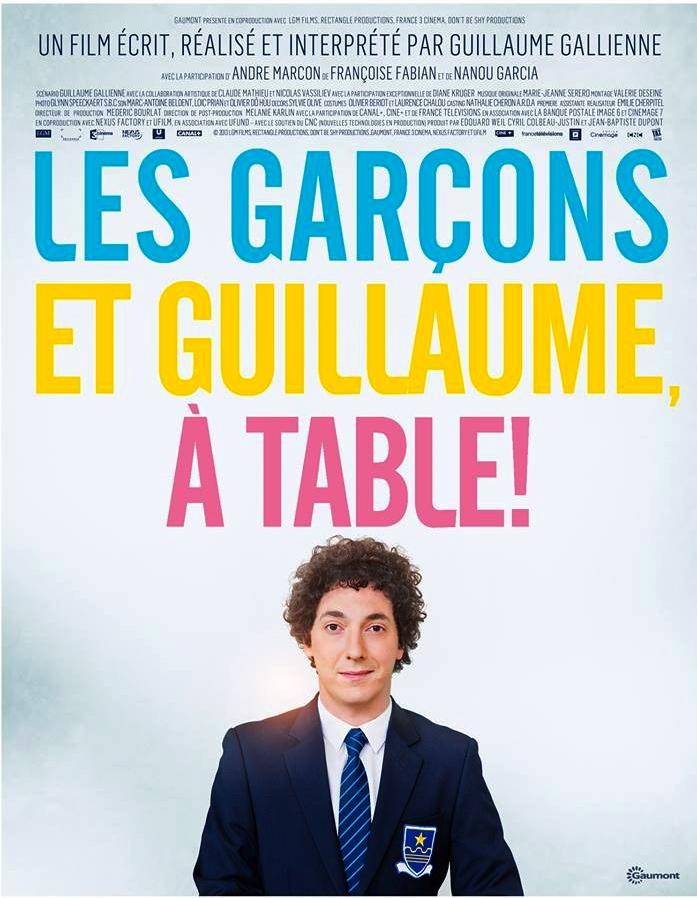 Cinéma: Les Garçons et Guillaume, à table !
